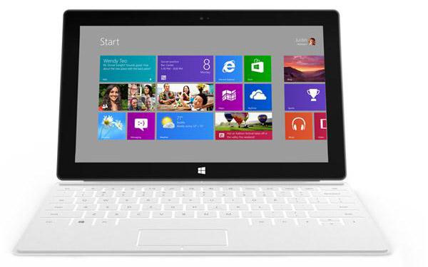 Windows 8 sur Surface
