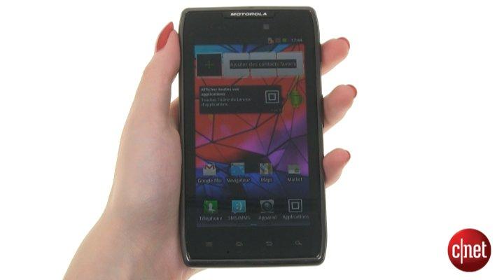 Démo du Motorola Razr Maxx