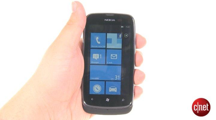 Démo du Nokia Lumia 610
