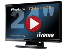 Démo du Iiyama ProLite T2451MTS