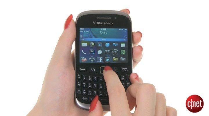 Démo du RIM BlackBerry Curve 9320
