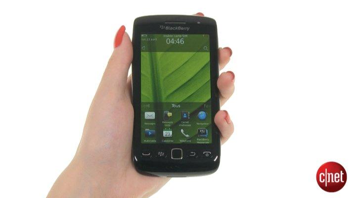 Démo du RIM BlackBerry Torch 9860
