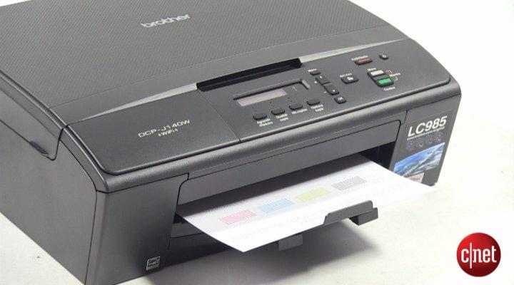 Démo de l'Imprimante Brother DCP-J140W