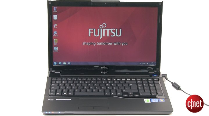 Démo du Fujitsu Lifebook AH552SL