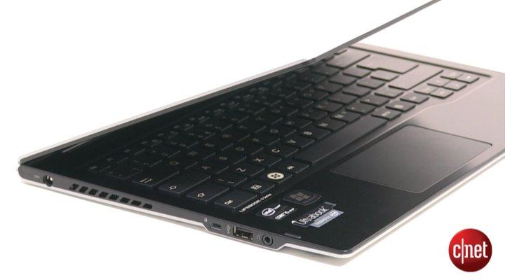 Démo du Fujitsu Lifebook U772