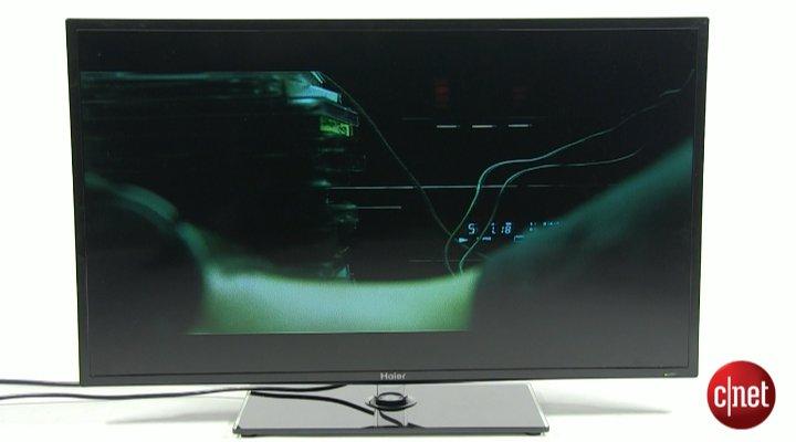 Démo du téléviseur Haier LED LET39Z18HF