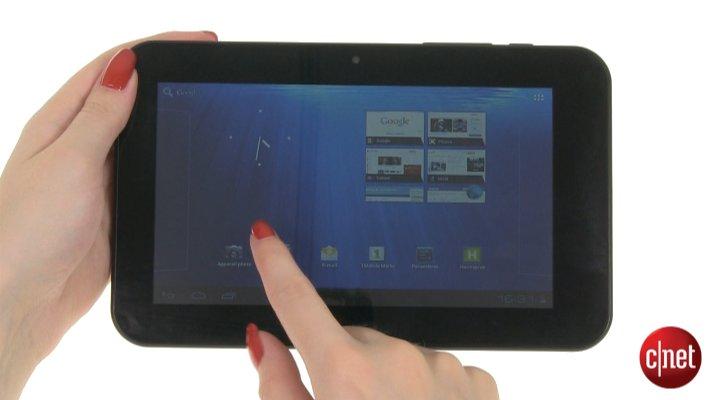 Démo de la tablette HANNSpree HANNSpad 7