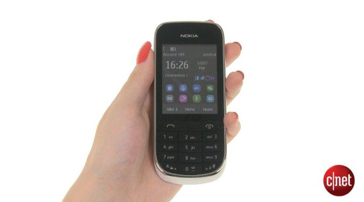 Démo du Nokia Asha 203