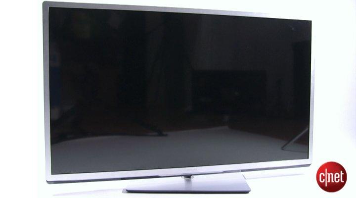 Démo de la TV Philips 55PFL5507H