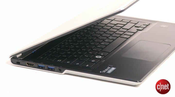 Démo du Fujitsu Lifebook UH572