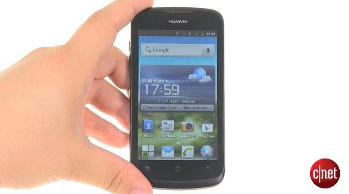 Démo du Huawei Ascend G300