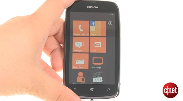 Nokia Lumia 610 NFC Quiksilver