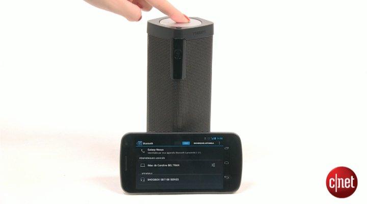 Démo de l'Enceinte Philips Shoqbox SB7100