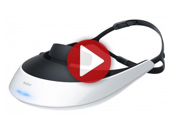 IFA 2012 : Sony Visiocasque 3D HMZ-T2
