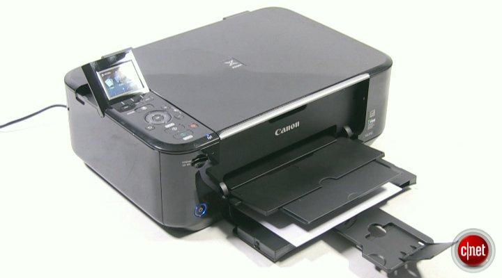 Démo de l'imprimante Canon PIXMA MG4150