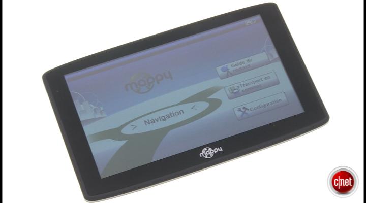 Démo du GPS Mappy maxiS709