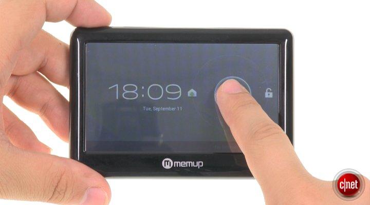 Démo de la Memup PocketPad 4.0