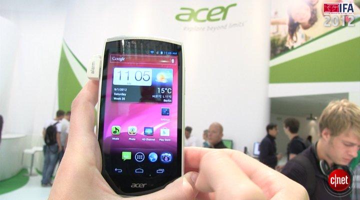 Démo de l'Acer Cloud Mobile