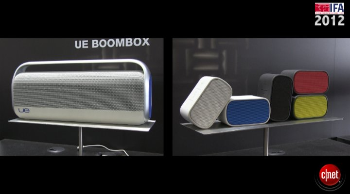 IFA 2012 : Logitech UE Boombox UE Mobile Boombox