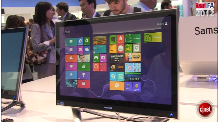 IFA 2012 : Samsung All-in-One Série 7