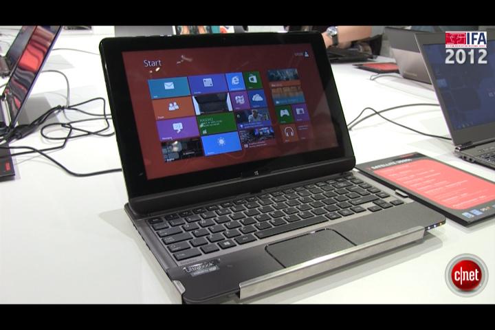 IFA 2012 : Toshiba Satellite U920T