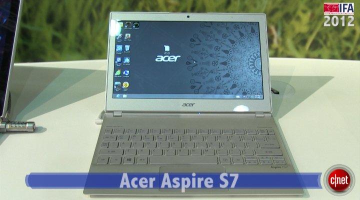 Démo du Acer Aspire S7