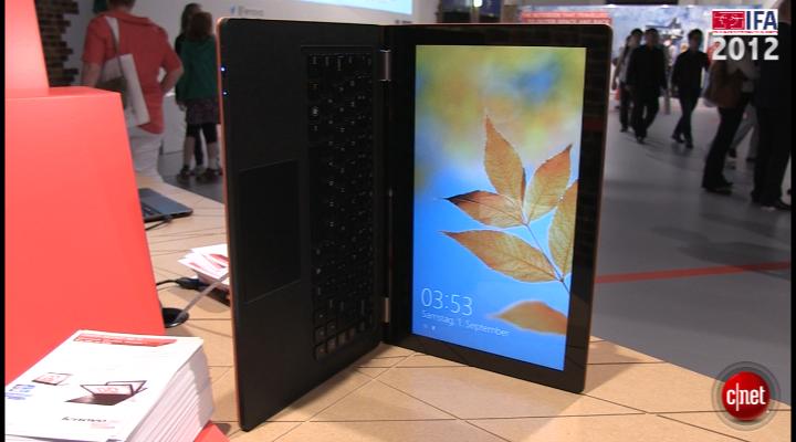 IFA 2012 : Lenovo IdeaPad Yoga 13