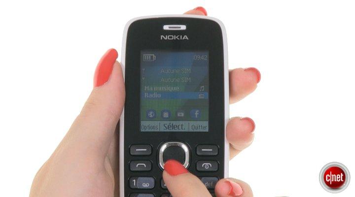 Démo du Nokia 112