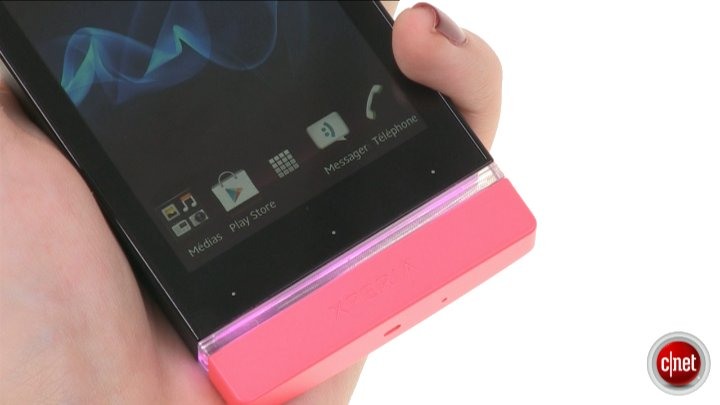 Démo du Sony Xperia U
