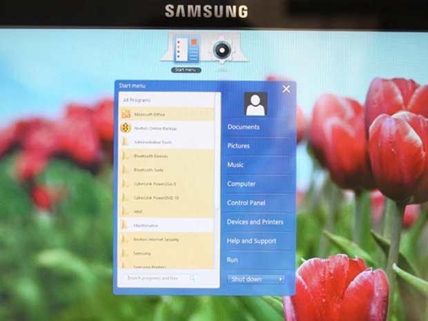 Samsung redonne un menu Démarrer à Windows 8