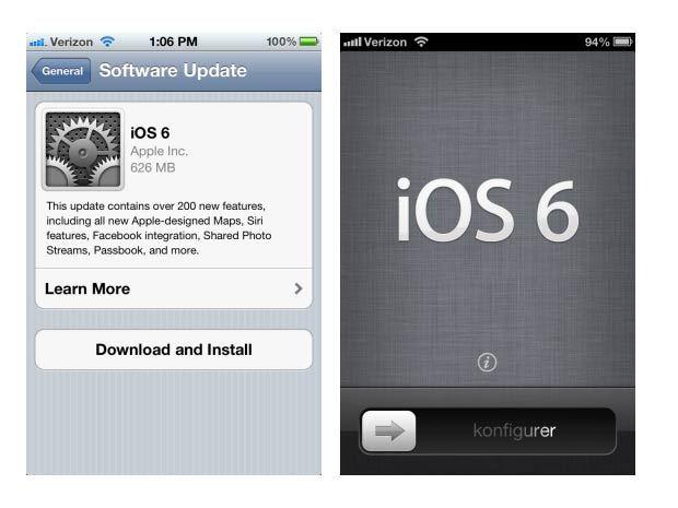iOS 6 dépasse 60% d'adoption un mois après sa sortie