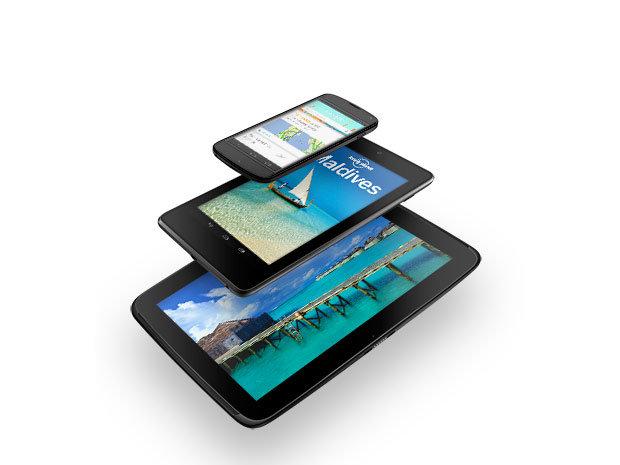 Google dévoile ses Nexus 4, Nexus 7 et Nexus 10 et déclare la guerre des prix