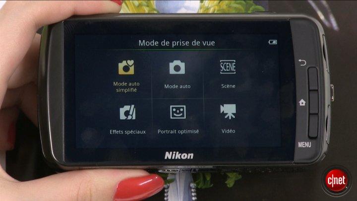 Démo du Nikon Coolpix S800c