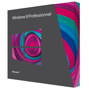 Uen boite de Windows 8 Pro