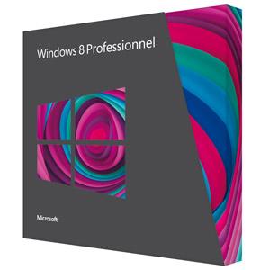 Uen boite de Windows 8 Pro
