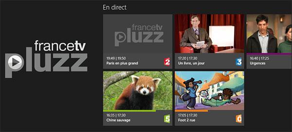France TV Pluzz Windows 8
