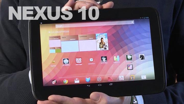 Nexus 10 : premières impressions