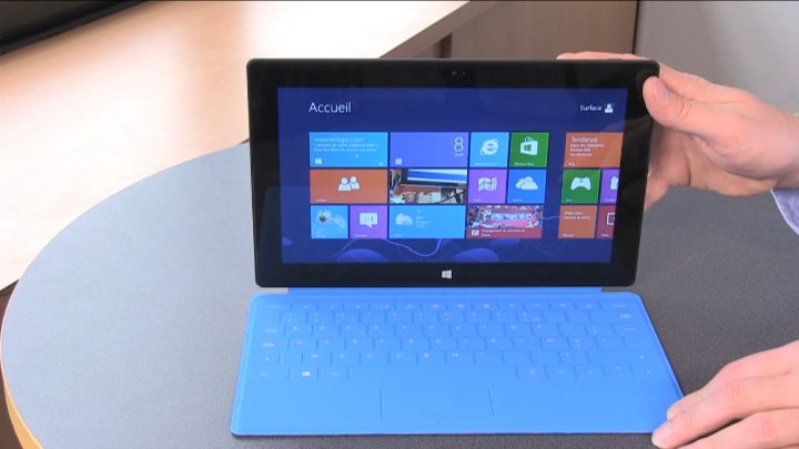 Test de la tablette Microsoft Surface