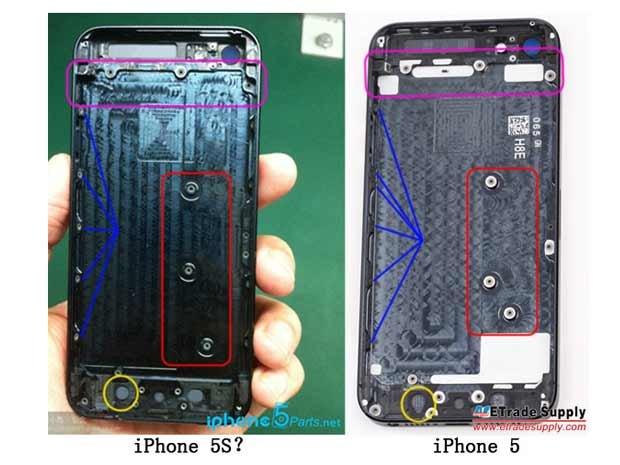 iPhone 5S : premières photos volées ?