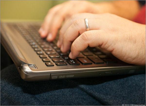 Les mains sur le clavier