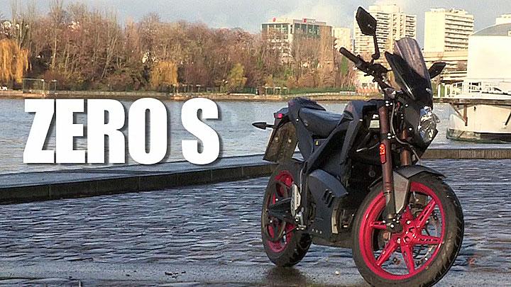 Essai de la Zero S électrique