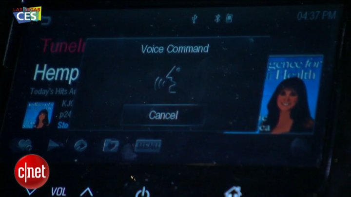 CES 2013 : Chevrolet MyLink Entertainement System}