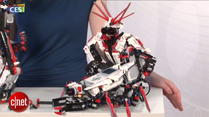 CES 2013 : LEGO Mindstorm V3}