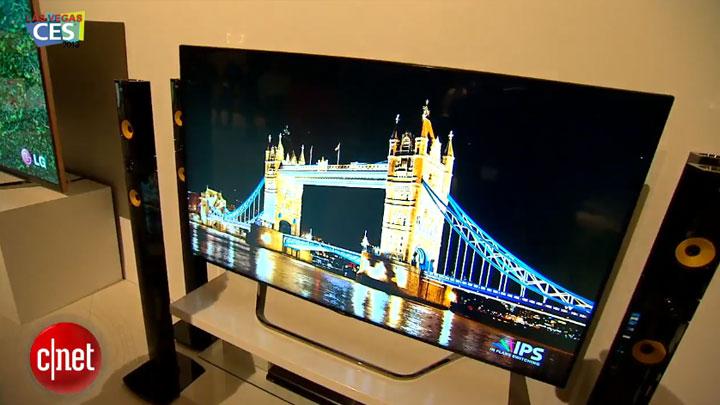 CES 2013 : LG présente des écrans 4K}
