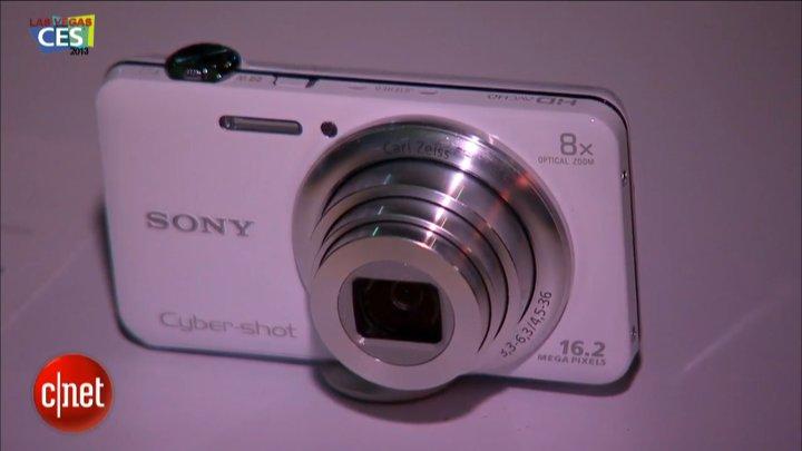 CES 2013 : Sony CyberShot WX80}