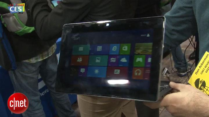 CES 2013 : Asus Taichi, un ultrabook / tablette à 2 écrans !}