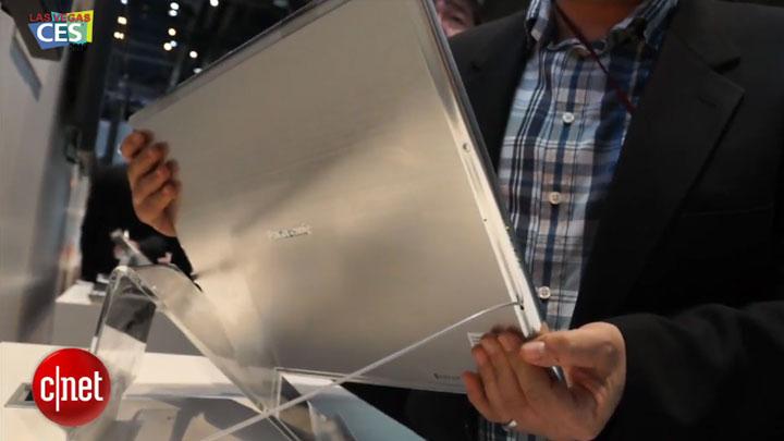 CES 2013 : la tablette géante de Panasonic (20 pouces) }