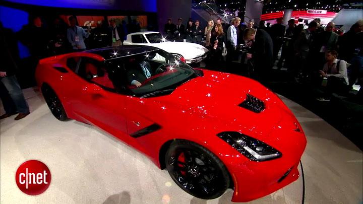 Detroit 2013 : Corvette Stingray de Chevrolet