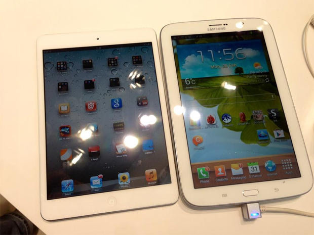 Vente de tablettes au ralenti, iPad fragile leader devant Samsung