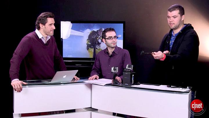 CNET Live : GoPro et caméras embarquées